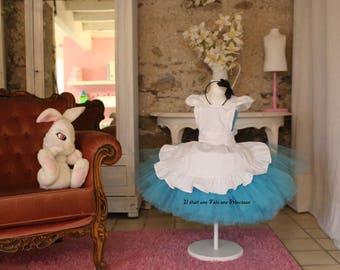 Tutu dress inspired Alice in Wonderland country