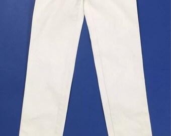 Diesel 008ac jeans white skinny stretch kinkey tg 40 41 T1963 woman used W27