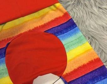 Rainbow Maxaloones! Grow With Me Pants! Cloth Diaper Pants! Circle Bum Pants! Maxaloones! Baby Pants! Toddler Pants! Grow With Me Pants!