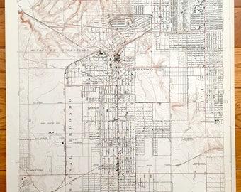 Inglewood Map Etsy - Inglewood map