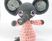 Amigurumi Elephant, Crochet Animal, Amigurumi Animal, Baby Safe, Newborn Gift, Child Gift, Newborn Birth Gift, Newborn Shower Gift