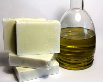 Greek Pure Handmade 100% Extra Virgin Olive Oil SOAP Castile Soap, Organic