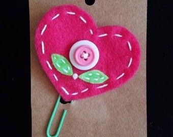 Cute Felt Hand-sewn Bookmark