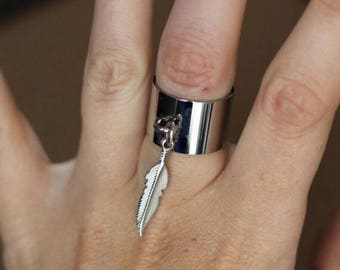 Feather ring stainless steel