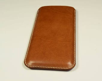 iPhone 6/6s Kangaroo Leather Sleeve/Case/Cover, Personalized, Slim, iPhone leather Cover, iPhone Leather Case, iPhone Leather Sleeve