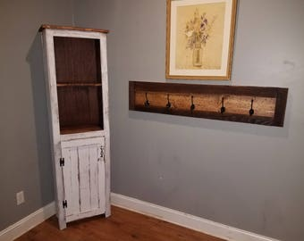 entry way rustic coat hanger