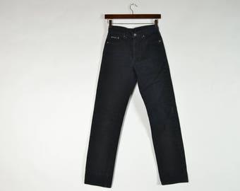 Vintage Black Calvin Klein High Waisted Jeans
