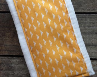 Burp Cloth | Mustard