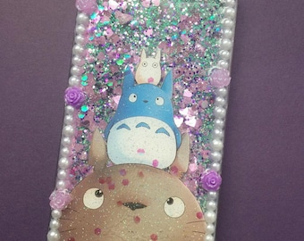 Ready to ship! Decoding phone case Ghibli Totoro phone case cover cell phone anime manga