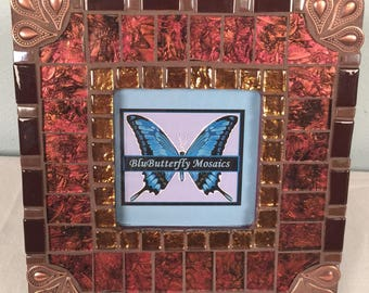 Copper Mosaic Picture Frame