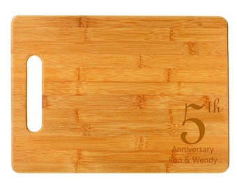 Anniversary Style 2 Cutting Board