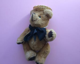 Kent Collectible Bear 1985 (Jean Steele) Brown Jointed Teddy Bear