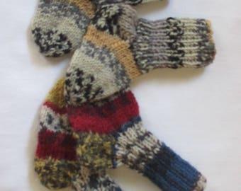 2 Pack Twinpack first socks newborn Frühchensocken GR 14 / 15 socks wool