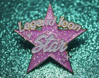 Legend, Icon Star Trixie Mattel Enamel Pin