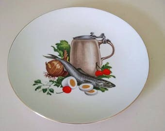 Burgess And Leigh Burleigh Ware Plate.