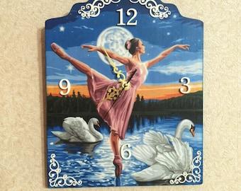 """Часы """"Балет"""" настенные   Clock """" Ballet"""" wall-type"""