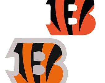 Cincinnati Bengals svg- digital Logo, Svg, DXF, JPG, EPS, Silhouette and Cricut Cutting Machines.