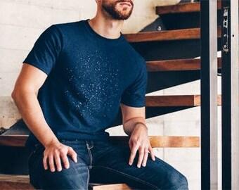 Northern Hemisphere Constellations  • Midnight Blue Short Sleeve Tribend T-Shirt