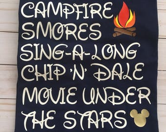 Fort wilderness/Disney campground/chip'n'dale