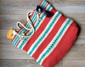 The Asbury Tote - CROCHET PATTERN ONLY!