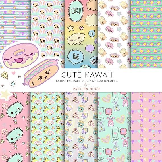 foto de Cute kawaii Kawaii para colorear lindos personajes