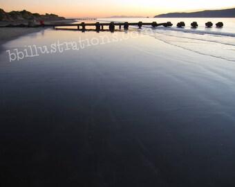 sunset ocean print, sunset beach print, sunset sea print, sunset beach photo, sunset sea photo, sunset ocean photo, nature decor ideas