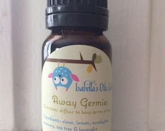 Away Germies essential oil blend