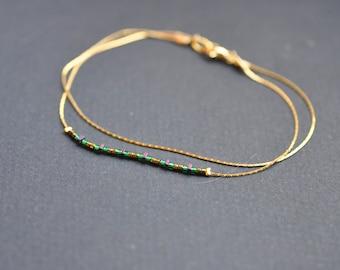 Bracelet fine miyuki