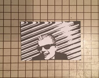 Max Headroom Incident Sticker