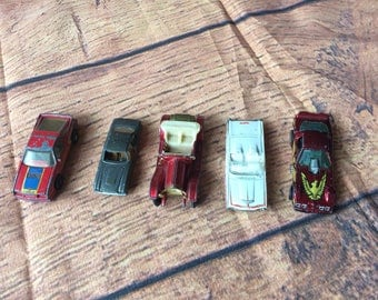 Set of 5 Toy Cars