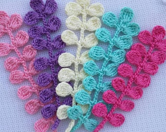 5pcs crochet branches