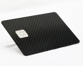 Carbon Fiber - Metallo Card®