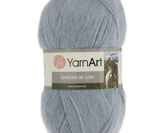 YarnArt ANGORA DE LUXE - Mohair Yarn - Choose colour - Mohair acrylic yarn - half mohair yarn - winter yarn - soft yarn - warm yarn