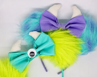 Disney ears, sully mouse ears, Mike mouse ears, monster inc ears, mouse ears, minnie mouse ears, mickey mouse ears, mickey ears, minnie ears