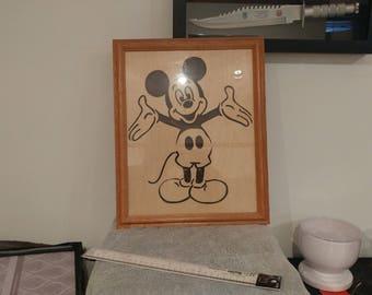Walt Disney Mickey Mouse Wall Art