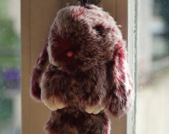 Bunny plush 15cm 100% handmade