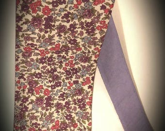 Reversible tie in cotton - accessory