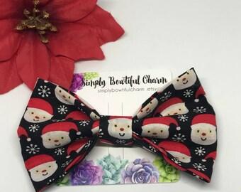 Santa Claus/ Christmas hair bow