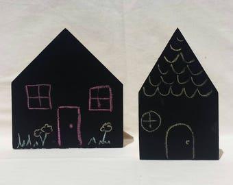 Chalkboard Houses