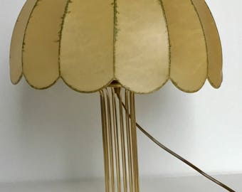 Cocoon Brass Table lamp mid century modern 1960s