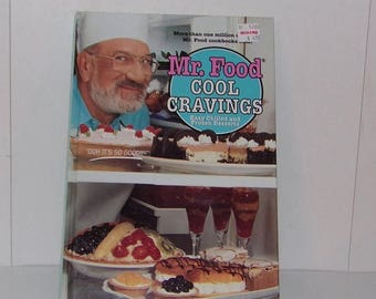 Mr food cookbook etsy on sale mr food cool cravings easy chilled and frozen desserts ohh its forumfinder Gallery