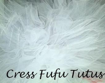 Baby White Tutu|Newborn Tutu|Preemie Tutu|Newborn Photos|White Tutu|Baby Tutu|Smashcake Tutu|Birthday Tutu|Holiday Tutu