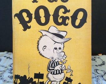 I Go Pogo Paperback Comic Strips Book ~ By Walt Kelly ~ c1952 ~ Vintage Comic Book