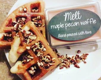 Maple pecan waffle wax melts
