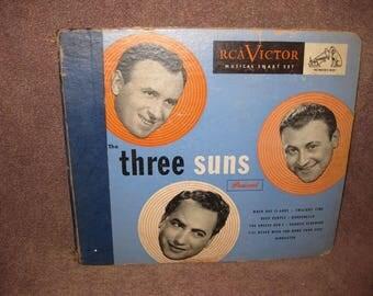 The Three Suns Present - 78 RPM Record Set