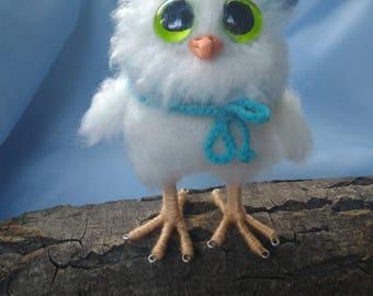 Stuffed Owl Toy Stuffed owl Plush Owl Toy Animal Plush Toy Kawaii Miniature Tiny Plush Owl Knitted Toy Baby Gift Gift Owl  Valentines  Gift