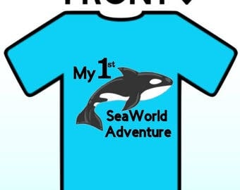 Custom SeaWorld Birthday Shirt