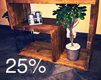 Discount, 25% OFF Vintage industrial furniture, Console TV, mobile