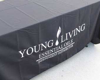 Young Living Tablecloth fits up to 8 Foot Table