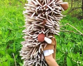 Hedgehog costume / Toddler Costume/ Kids Costume / hedgehog dress up / handmade costume / Halloween costume
